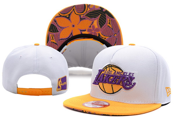 Los Angeles Lakers NBA Snapback Hat XDF248